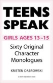 TEEN SPEAKS: GIRLS AGES 13-15